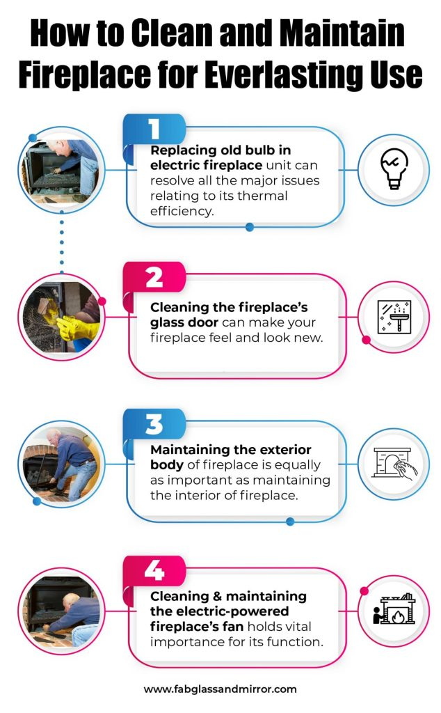 How-to-Clean-Maintain-Electric-Fireplace-Infographic-634x1024