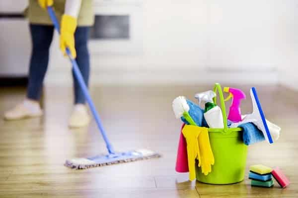 Home Cleaning With Cleaning Tools